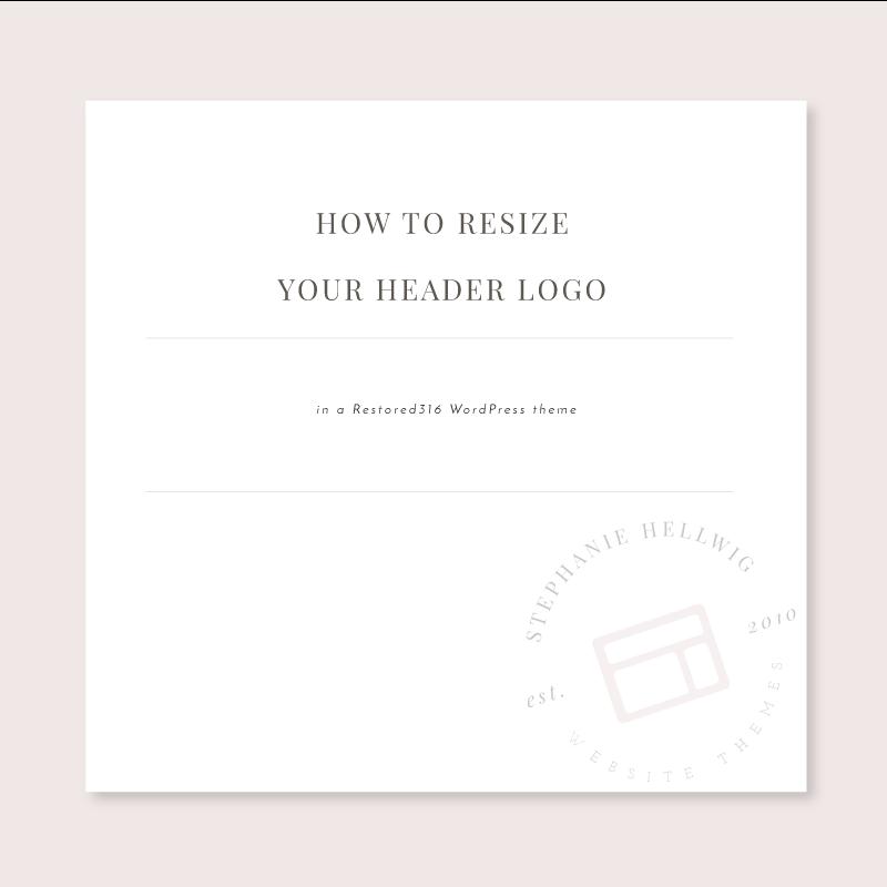 how to change wordpress theme logo