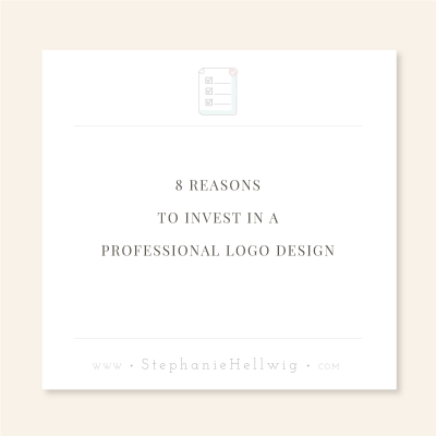 8 Reasons to Invest In a Professional Logo Design